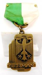 Early German Medal with Federal Eagle