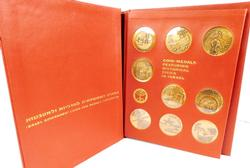Bronze Coin-Medals of Historical Cities in Israel