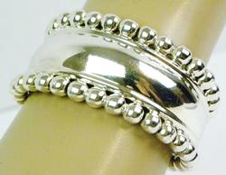 Fabulous Wide Sterling Silver Cuff