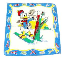 Vintage Donald Duck Child's Hanky