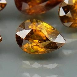 Glittering 4.40ct 8 piece natural Sphene set