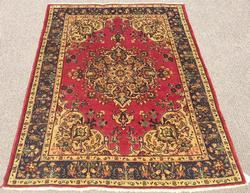 Lovely Rare Mid Century. Handmade Vintage Royal Persian Rug