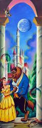 ONE OF A KIND FERJO DISNEY COLLECTION ORIGINAL ACRYLIC