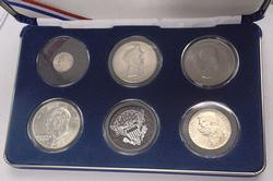 World Leaders Sivler Coin Display