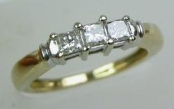 Beautiful & Versatile 14K Princess Cut Diamond Ring