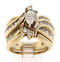 Tempting 2 Piece Ring Set with Diamonds