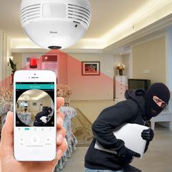 360-Degree Security Hidden Camera Light Bulb