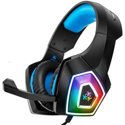 Full Featured Gaming Headset LED Light Surround Sound