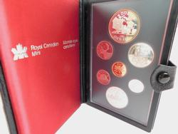 1981 Royal Canadian Mint Proof 7 Coin Set