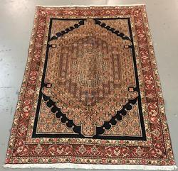 Handmade Persian Senneh 5.8x8.8