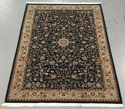 Handmade Wool/Silk Azerbaijani Kashan 5.9x8.9