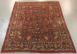 Beautiful Handmade Persian Sarouk 8.8x11.10