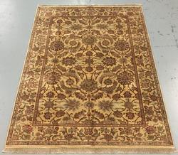 Handmade Indo Khorasan 6.2x9.1