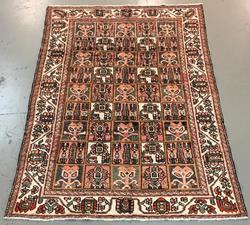 Handmade Semi Antique Persian Bakhtiari 6.5x9.6