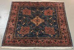 Handmade Persian Angeloz 6.4x6.9