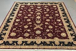 Handmade Wool/Silk Azerbaijani Tabriz 12x15