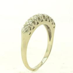 .35 CTW Diamond Band in 14kt White Gold, Size7.75