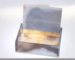 Natural Agate Hinged Box