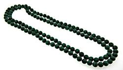Fabulous Strand of Malachite Beads