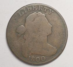 Tough Early Date 1800 1 Cent