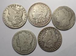 5 New Orleans Morgans with wear or other issues
