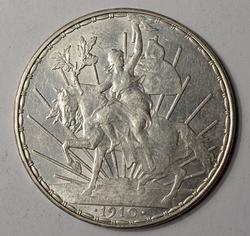 Popular 1910 Mexico Silver Peso
