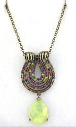 Multi Gemstone Lavian Necklace