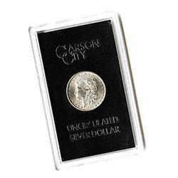 Carson City Morgan Silver Dollar 1881-CC Uncirculated