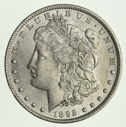1892 Morgan Silver Dollar - Circulated