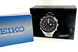 Seiko Radio Sync Solar Chronograph