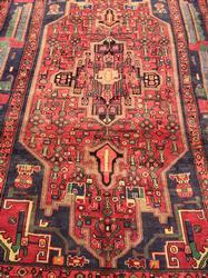Very Unique 1950s Authentic Hand Woven Vintage Persian Qoltoq