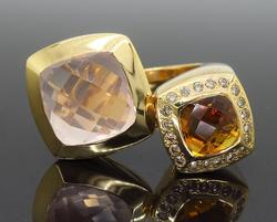 18K Yellow Gold Valente Ring