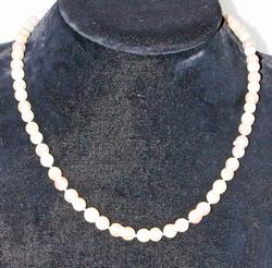 Seeing Double: Japanese Pearl Necklace