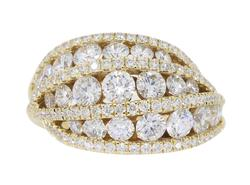 14K Yellow Gold 1.855CTW Diamond Ring