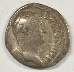 Scarcer Hadrian Roman Silver Denarius. 117-138 AD
