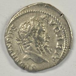 Sharp Septimius Severus Roman Silver Denarius, 193-211
