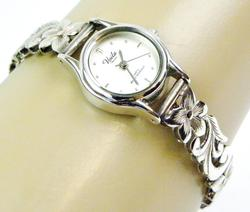 Hawaiian Sterling Designer Ladies Watch, Runs