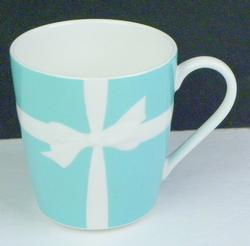 Iconic Vintage Tiffany & Co. Blue Bow Mug