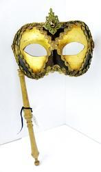 Italian Florentine Masquerade Mask w/Handle