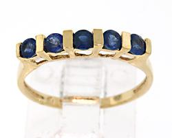 14kt Blue Sapphire Ring
