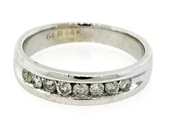 Gents Channel Set Diamond Band
