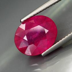 Vivid pink 4.76ct Ruby from Mozambique