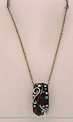 Sterling Silver Multi Gemstone Necklace