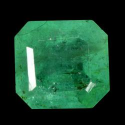 Vivid green unheated 1.16ct real Colombian Emerald