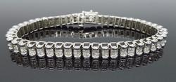6.00CTW Diamond Tennis Bracelet