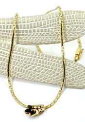Lovely Sapphire & Diamond 14K Necklace