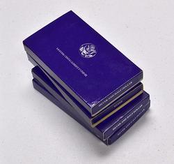 1986 Liberty Commems in Box, 3 x $1 & 50c, 1 x $1
