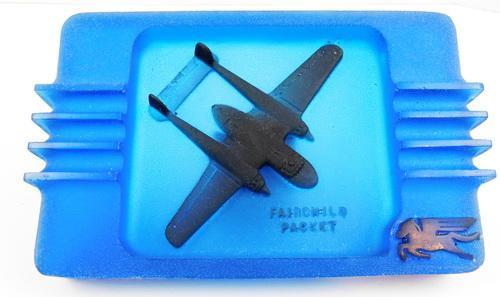 Fairchild Packet Airplane Ashtray