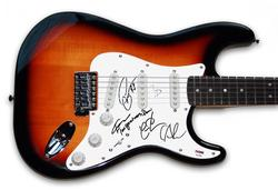 The Gracious Few Autographed Signed Guitar