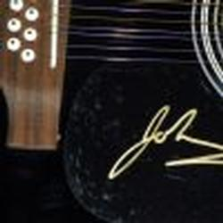 The Goo Goo Dolls Johnny Rzeznik Signed Acoustic Guitar